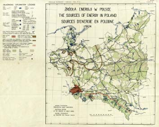 Źródła energji w Polsce 1924 = The sources of energy in Poland 1924 = Sources d'energie en Pologne 1924 / Wydział Elektryczny Ministerstwa Robót Publicznych.