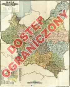 Mapa administracyjno-sądowa Rzeczypospolitej Polskiej