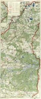 Mapa samochodowa Rzeczypospolitej Polskiej. Ark. 7, Wilno - Łuck