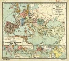Prowincje b. Cesarstwa Rzymskiego po r. 476 : podziałka 1:14 500 000