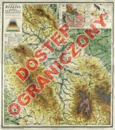 Kotlina Kłodzka i Góry Przyległe : mapa fizyczna z uwzględnieniem komunikacji i szlaków turystycznych : podziałka 1:100 000