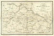 Mapa hypsometryczna Gór Świętokrzyskich : skala 1:250 000