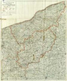 Regierungsbezirke Grenzmark Posen - Westpreußen und Köslin : Maßstab 1:300 000