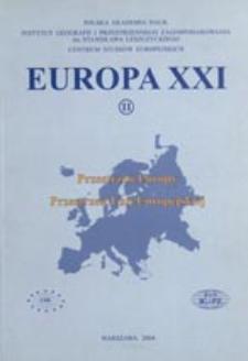 Europa XXI 11 (2004)