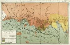 Mapa Spisza, Orawy i Okręgu Czadeckiego
