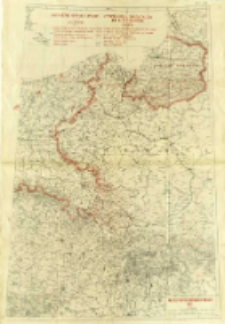 Zachodnie granice Polski = Frontières orientales de l'Allemagne