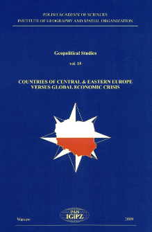 Countries of Central & Eastern Europe versus global economic crisis