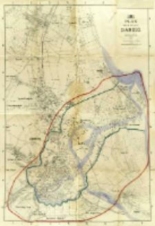 Plan der Stadt Danzig : Angefertigt im Jahre 1921