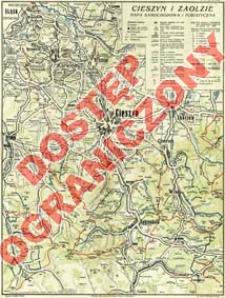 Cieszyn i Zaolzie : mapa samochodowa i turystyczna