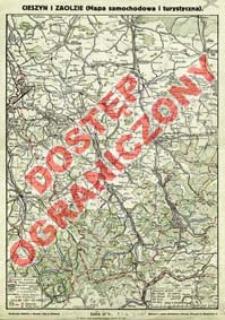 Cieszyn i Zaolzie (Mapa samochodowa i turystyczna)