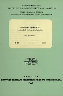Zagadnienia ludnościowe obszaru byłych Prus Wschodnich = Problems of population in area of ex-East Prussia
