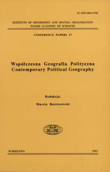 Współczesna geografia polityczna = Contemporary political geography
