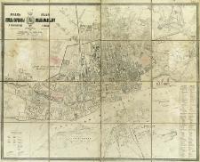 Plan goroda Varšavy i okrestostej = Plan miasta Warszawy i okolic