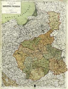Mapa guberni Królestwa Polskiego