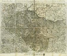 Karte von Gross-Polen enthalted A. die Woiwodschaften Posen, B. Gnesen, C. Kalisch, D. Sieraden, E. Land Wielun, F. Woiwods. Lentschitz, G. Brzescie, H. Inowraclaw, I. Rawa, K. Massuren, L. Plotzk und M. das Land Dobrzyn