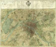 Karte von der Gegend und Grundris der Stadt Paris = Carte Topographique des Environs & du Plan De Paris