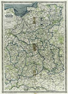 Mapa Królestwa Polskiego z oznaczeniem lasów na podstawie najnowszych źródeł opracowana i wydana przez J. M. Bazewicza