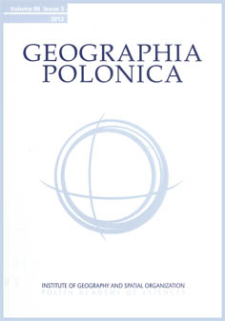 Typology of physical-geographical regions in Poland in line with land-cover structure and its changes in the years 1990-2006