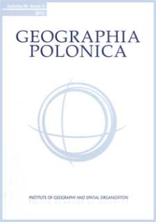 Geographia Polonica Vol. 86 No. 3 (2013), Review