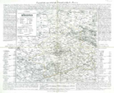 Charte vom Königlich Preussischen Regierungsbezirk Münster : nach seiner Eintheilung in 11 Kreise