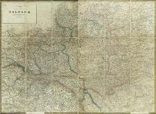 Carte de l'ancienne Pologne avec les délimitations actuelles