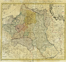Mappa geographica Regni Poloniae ex novissimis quotquot sunt mappis specialibus composita et ad L.L. Stereographica projectionis revocata
