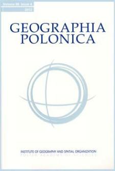 Geographia Polonica Vol. 86 No. 4 (2013) Contents