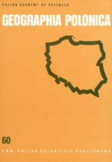 Geographia Polonica 60 (1992)