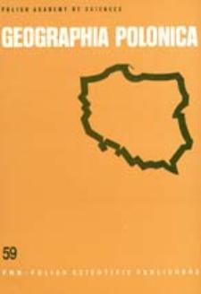Geographia Polonica 59 (1992)