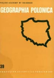Geographia Polonica 39 (1978)