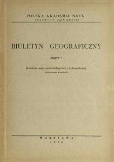 Instrukcja mapy geomorfologicznej i hydrograficznej : opracowanie zespołowe