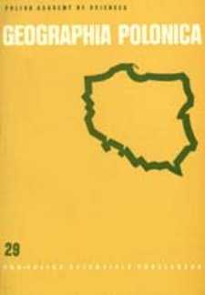 Geographia Polonica 29 (1974)