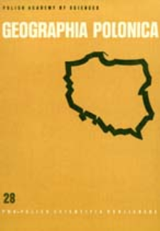 Geographia Polonica 28 (1974)
