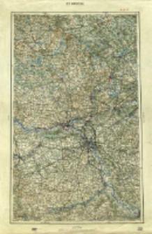 """Operationskarte """"R"""" : im Maße 1:400 000. G 3. Warschau"""