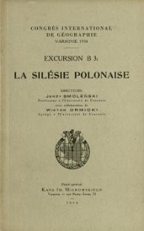 Congrès International de Géographie, Varsovie. Excursion B 3.2, La Silésie Polonaise