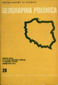 Geographia Polonica 26 (1973)