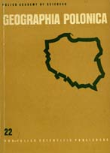 Geographia Polonica 22 (1972)