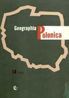 Geographia Polonica 14 (1968)