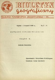 Katalog jezior polskich. Cz. 3, Jeziora Mazurskie