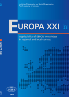 ESPON as a tool of national and regional policy
