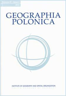 Geographia Polonica Vol. 87 No. 2 (2014), Contents
