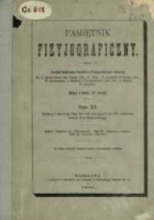 Pamiętnik Fizyjograficzny T. 10 (1891)