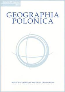 Geographia Polonica Vol. 87 No. 3 (2014), Contents