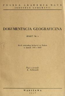 Ruch naturalny ludności w Polsce w latach 1947-1955