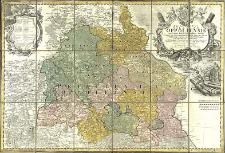 Principatus Silesiae Oppoliensis exactissima Tabula geographica, sistens Circulus Oppoliensem Ober-Glogau Gros Strehliz, Cosel, Tost, Rosenberg, Falckenberg & Lubleniz
