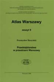 Przedsiębiorstwa w przestrzeni Warszawy