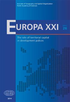 Europa XXI 26 (2014), Contents
