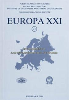 Europa XXI 21 (2010), Editorial