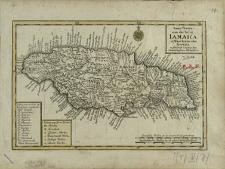 Neue Charte von der Insul Iamaica in West-Indien oder America