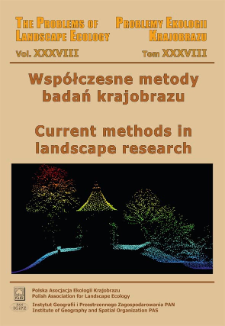 Metodyczne aspekty oceny spójności krajobrazu z wykorzystaniem danych projektu Global Forest Change = Methodical aspects of landscape coherence assessment using Global Forest Change project data